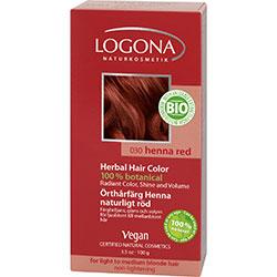 Logona Organik Bitkisel Toz Saç Boyası (Kına Kızılı)