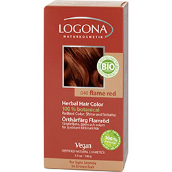Logona Organik Bitkisel Toz Saç Boyası (Ateş Kızılı)