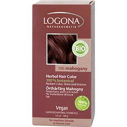 Logona Organik Bitkisel Toz Saç Boyası (Bordo)