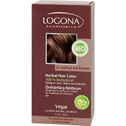 Logona Organik Bitkisel Toz Saç Boyası (Kızıl Kahve)