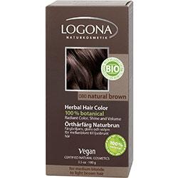 Logona Organik Bitkisel Toz Saç Boyası (Açık Kahve)