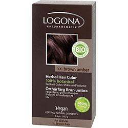Logona Organik Bitkisel Toz Saç Boyası (Koyu Kahve)