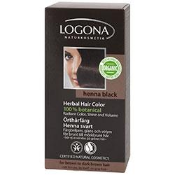 Logona Organik Bitkisel Toz Saç Boyası (Kına Siyahı)