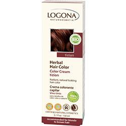 Logona Organik Bitkisel Krem Saç Boyası (Bordo)