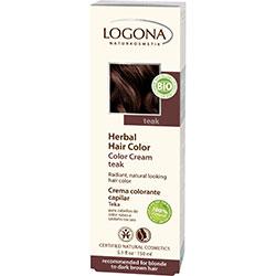 Logona Organik Bitkisel Krem Saç Boyası (Teak Ağacı)