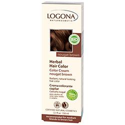 Logona Organik Bitkisel Krem Saç Boyası (Fındık Rengi)