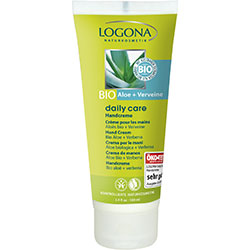 Logona Organik Daily Care Aloe ve Mine Çiçeği Özlü El Kremi 100ml