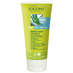 Logona Organik Daily Care Aloe ve Mine Çiçeği Özlü Saç Kremi 100ml