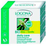 Logona Organik Daily Care Sensitive Aloe ve Vanilya Özlü Cilt Kremi 100ml