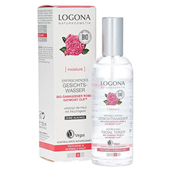 Logona Organik Gül ve Aloe Özlü Tonik 100ml