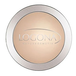 Logona Organic Face Powder  01 Light Beige