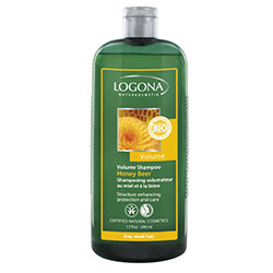 Logona Organic Shampoo  For Volumised Hair  Honey & Beer  500ml