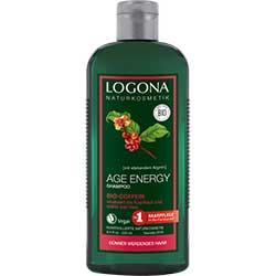 Logona Organik Şampuan (Kafein ve Kurt Üzümü Özlü, Enerji Şampuanı) 250ml