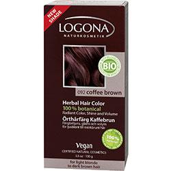 Logona Organik Bitkisel Toz Saç Boyası (Kahve)