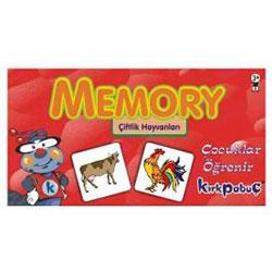 Memory Çiftlik Hayvanları Yapboz (24 Parça, 3+ Yaş)