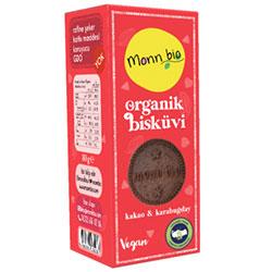 Monn Bio Organik Kakaolu Karabuğdaylı Bisküvi 80g