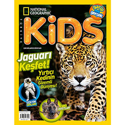 National Geographic Kids Türkiye (Ağustos 2016)