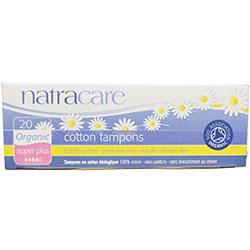 Natracare Organik Tampon (20 Adet, Süper Plus)