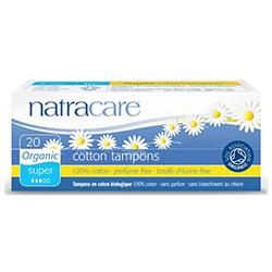 Natracare Organik Tampon (20 Adet, Süper)