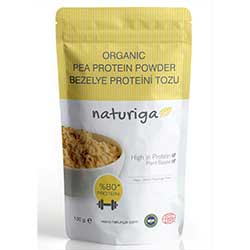 Naturiga Organik Bezelye Proteini Tozu 100gr