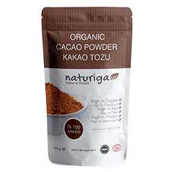 Naturiga Organik Kakao Tozu 100g