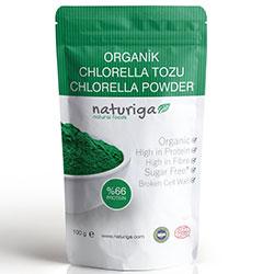 Naturiga Organik Klorella  Chlorella  Tozu 100gr