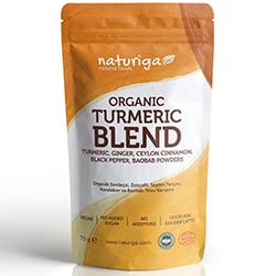 Naturiga Organik Zerdeçal Karışımı  Zerdeçal Latte  75g