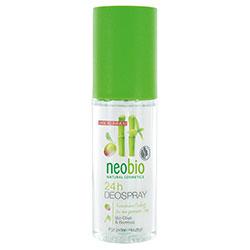 Neobio Organik 24 Saat Etkili Deodorant Sprey  Zeytin & Bambu  100ml
