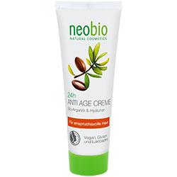 Neobio Organik 24 Saat Etkili Yaşlanmayı Geciktirici Krem  Argan Yağı & Hyalüron  50ml