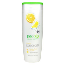 Neobio Organik Canlandırıcı Duş Jeli  Portakal & Misket Limonu  250ml