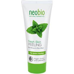 Neobio Organik Canlandırıcı Yüz Peeling  Nane & Deniz Tuzu  100ml