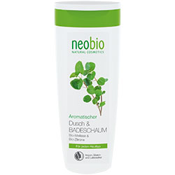 Neobio Organik Duş ve Banyo Köpüğü  Melisa & Limon  250ml