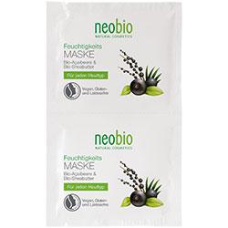 Neobio Organik Nemlendirici Maske  Acai & Shea Yağı  2x7 5 ml