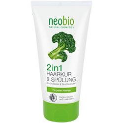 Neobio Organik 2'si 1 arada Saç Bakım Kremi  Brokoli & Shea Yağı  150ml