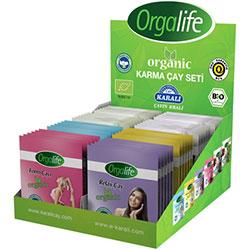 Karali Orgalife Organik Karma Çay Seti (Bardak Poşet) 48 adet