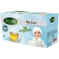 Karali Orgalife Organik Kış Bitki Çayı 20 poşet