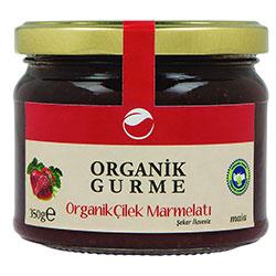 Organik Gurme Organik Çilek Marmelatı 350gr