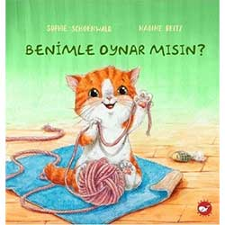 Organik Kitap: Benimle Oynar Mısın?  Sophie Schoenwald  Beyaz Balina Yayınları