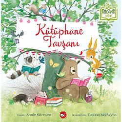 Organik Kitap: Kütüphane Tavşanı  Annie Silvestro - Beyaz Balina Yayınları