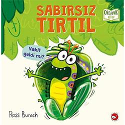 Organik Kitap: Sabırsız Tırtıl  Ross Burach  Beyaz Balina Yayınları