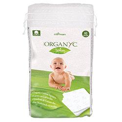 ORGANYC Bebek Temizleme Pedi 60 adet