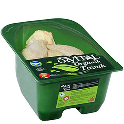 Orvital Organik Donuk Yarım Tavuk  KG