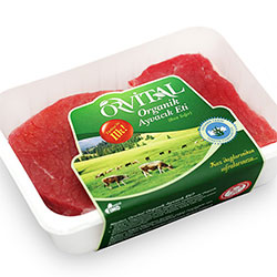 Orvital Organik Dana But Biftek (Donuk) (KG)