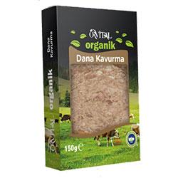Orvital Organik Dana Kavurma 150g