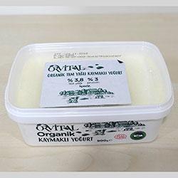 Orvital Organik Kaymaklı Yoğurt 900gr