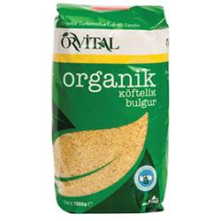 Orvital Organik Köftelik Bulgur 1kg