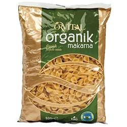 Orvital Organik Makarna (Fiyonk) 500gr