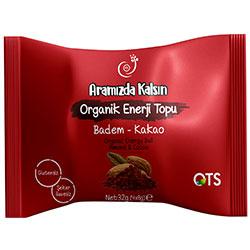 OTS Organik Aramızda Kalsın Enerji Topu  Badem  Kakao  32g