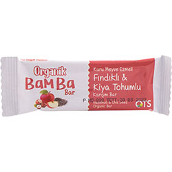 OTS Organik Bamba Bar  Fındık & Chia Tohumu  30g