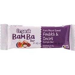 OTS Organik Bamba Bar  Fındık & İncir  30g